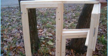 Kā veikt kastē izgatavots no koka sevi