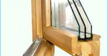 Kā veikt koka logi ar dubulto stiklojumu