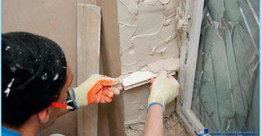 Kā noteikt nogāzes uz plastmasas logiem