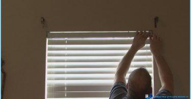 Kā uzstādīt žalūzijas uz loga ar rokām