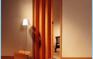 Kā uzstādīt salokāmās durvis ar savām rokām