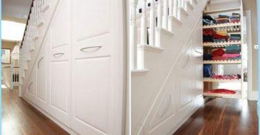 Cik noderīga un skaisti sakārtot vietu zem kāpnēm