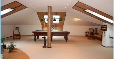 Dizains un uzstādīšana jumta sistēmas mansarda jumtu