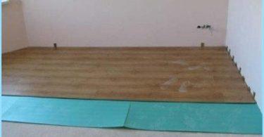 Kā aizpildīt pašlīmeņošanas grīdas izlīdzināšanai