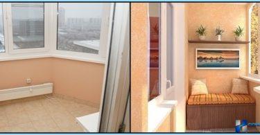 Sasilšana balkona un lodžiju PPU