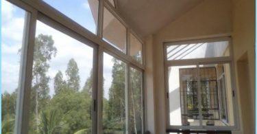 Bīdāmās balkona logi