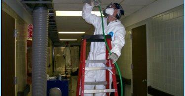 Dezinfekcija ventilācijas