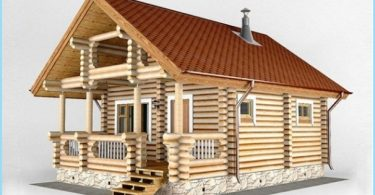 Projekti ar vannu un rindu māju
