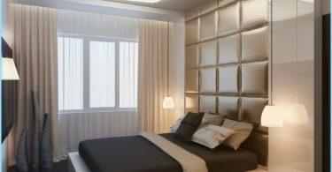 Moderna stila guļamistaba