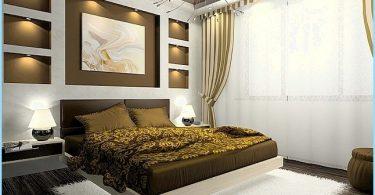 Modern guļamistaba dizains