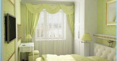 Dizains nelielu guļamistabu