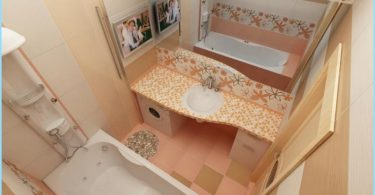 Modern remonts maza vannas istaba Hruščova