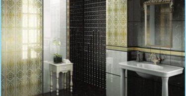 Krievu flīzes vannas istabā