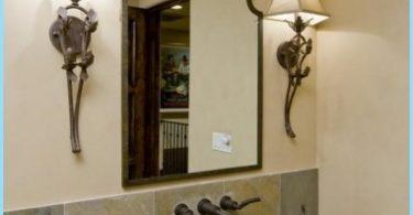 Dizains spogulis vannas istabā