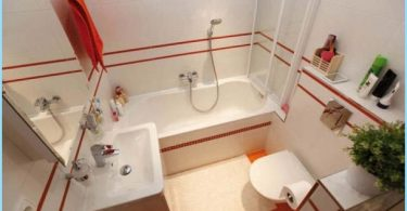 Dizains nelielu kvadrātveida ar vannu 3 fotogrāfiju