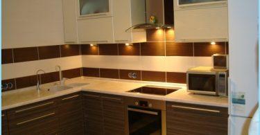 Dizains stūra virtuve, modernas idejas, jaunumi