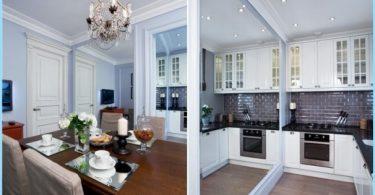 Virtuves Studio 20, 18, 16 kv. m. - Stilīgs mūsdienu dizains