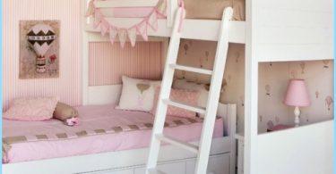 Bērnu istaba divām meitenēm