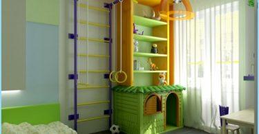 Sports platība bērnu istabu