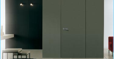 Durvis bez architraves noslēptas kanālā