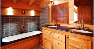 Kā padarīt vannas koka mājā