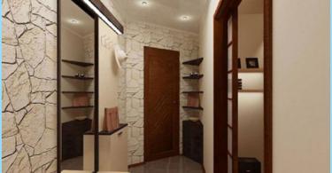 Dizains šaurā gaitenī dzīvoklī