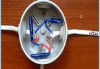 Braukšanas rasklyucheniya vai savienojums elektrisko kabeļu sadales kārba