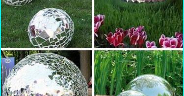Stikla izmantošana dārza celiņiem: stikls daudzkrāsains
