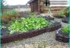 Vāzes ziediem ar savām rokām: no riepām, betona un citu materiālu