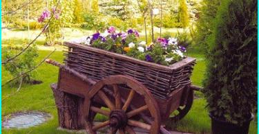 Dārza sols dot savām rokām - 6 projektus bildes